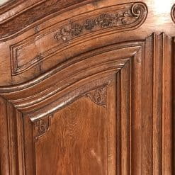 Antique armoire- detail of the left door- styylish