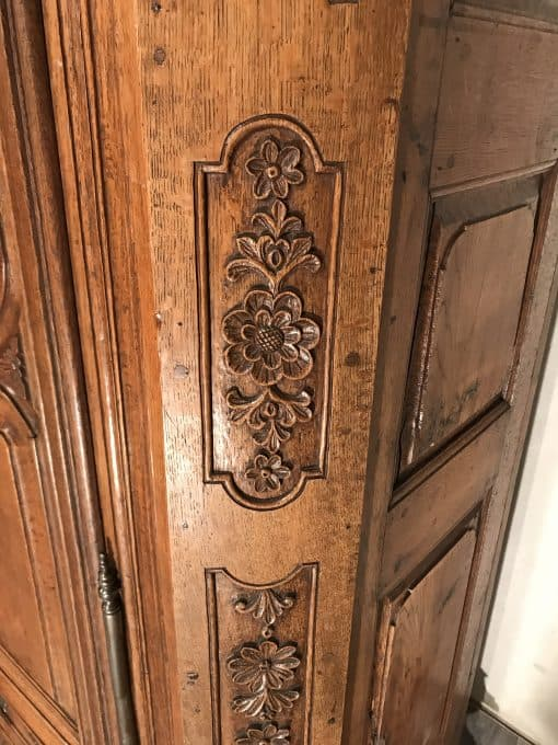 Antique armoire- carving details- styylish