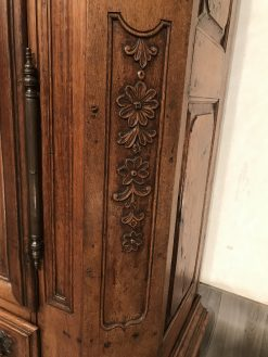 Antique armoire- carving details lower part- styylish