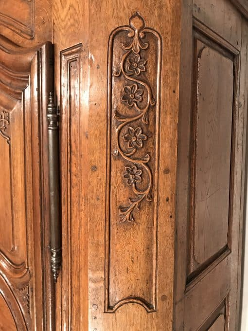 Antique armoire- flower carvings- styylish