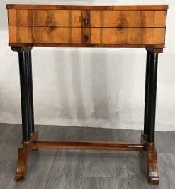 Biedermeier Working Table- front view- styylish