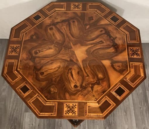 Baroque Center Table- Top view- styylish