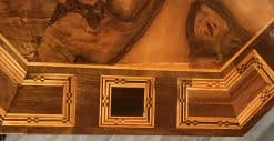 Baroque Center Table- detail of top- styylish