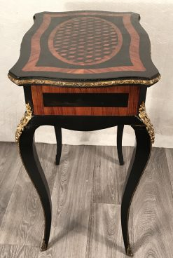 Second Empire Side Table- side view- styylish