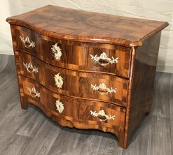 18th century Chest of Drawers- three-quarter view- styylish