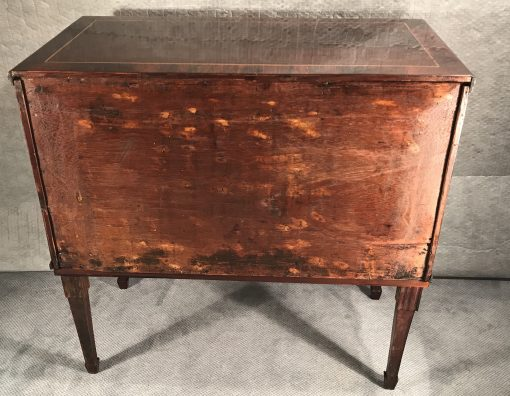 Neoclassical commode- back view- styylish