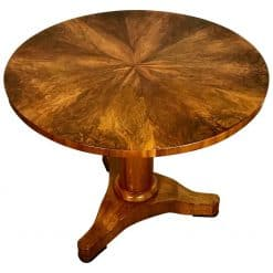 Biedermeier center table- styylish