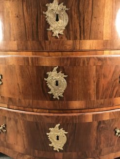 18th century chest- escutcheons- styylish