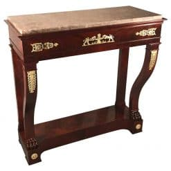 Console Table mahogany- styylish