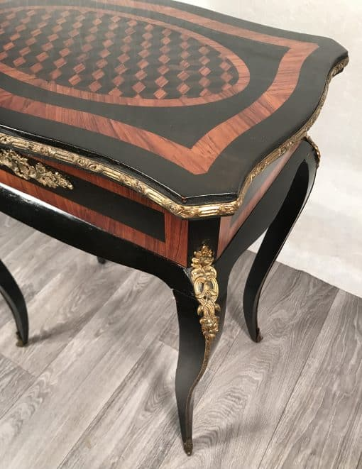Second Empire Side Table- Three quarter view- styylish