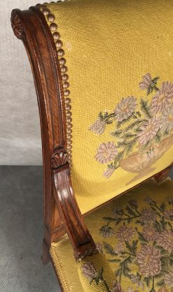 Antique armchairs- detail of the armrest- styylish