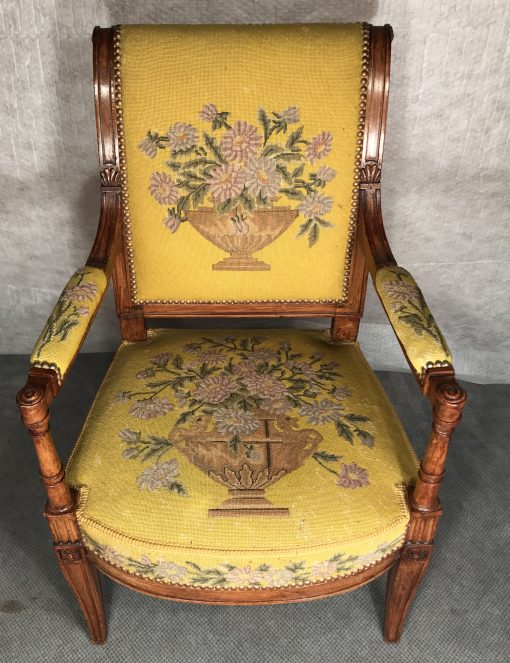 Antique armchairs-one of a set of three-stylish