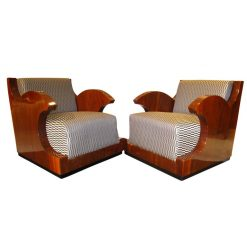 Pair of Club Chairs- styylish