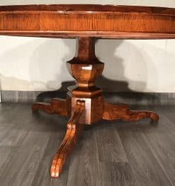Biedermeier Dining table- side view- styylish