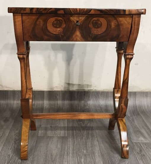 Biedermeier sewing table- front view- styylish