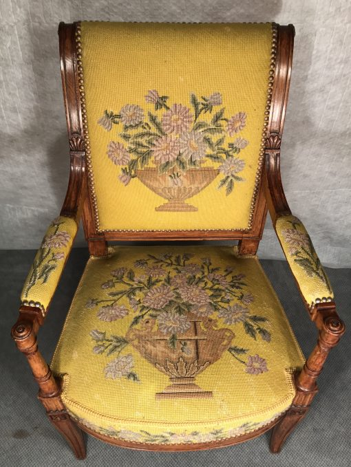 Antique armchairs- view of one chair- styylish