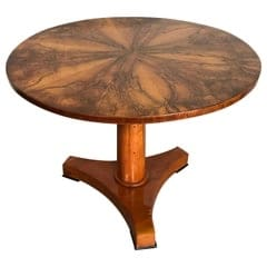 Biedermeier Walnut Table- styylish