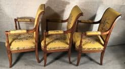 Antique armchairs- side view- styylish