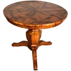 Round Biedermeier Table- styylish