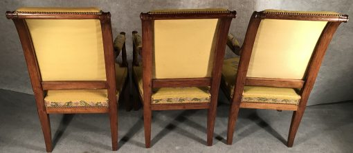 Antique armchairs- back view- styylish