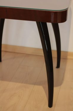 Side Table by J. Halabala, Mahogany Veneer, Czech Republic, circa 1930