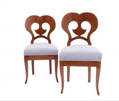 Cherry Biedermeier Chairs- two chairs- styylish