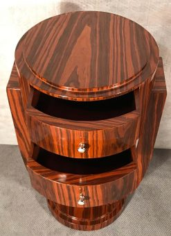 Art Deco Side table- drawers- styylish