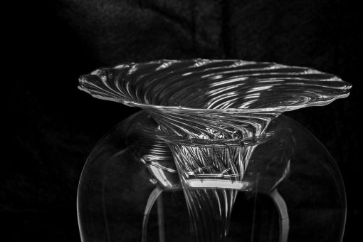 Venetian Glass vase- detail- styylish