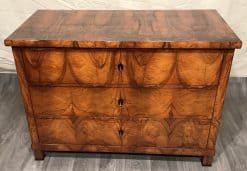 19th century Biedermeier Dresser- view of the front with top- styylish