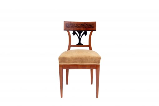 Walnut Biedermeier Chairs- front- styylish