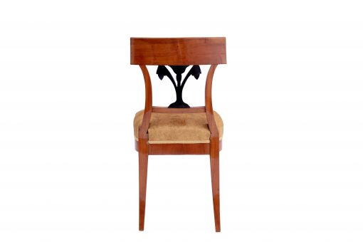 Walnut Biedermeier Chairs- back- styylish