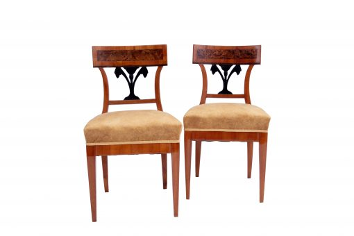 Walnut Biedermeier Chairs- styylish