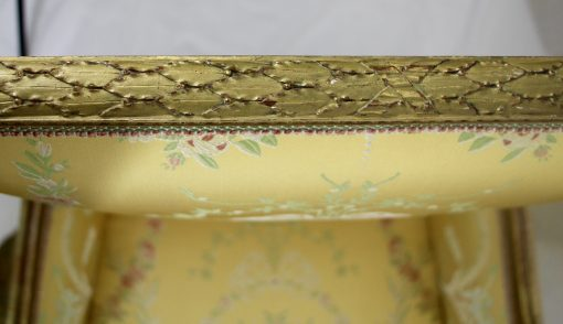 Louis XVI Style armchair- detail of the carving- styylish