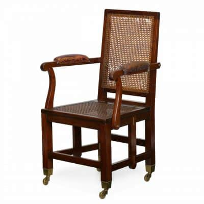 Campaign Furniture-Cane Chair-Styylish