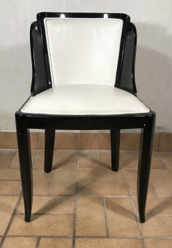 Set of Art Deco chairs- front view- styylish