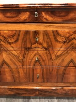 French Antique chest- detail of drawers- styylish