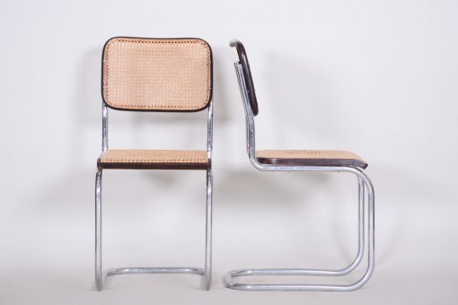 Marcel Breuer Chairs- front and side- styylish