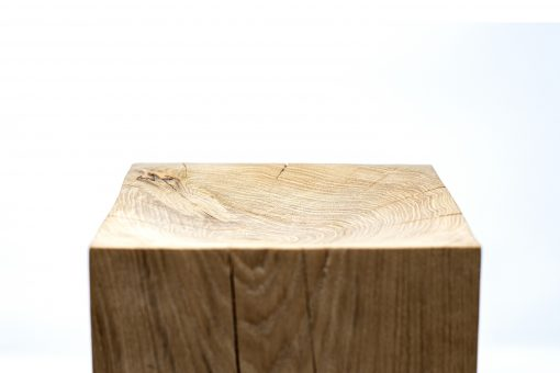 Wood centerpiece- view from above- Styylish