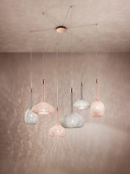 Custom made pendant light- with different canopy- styylish