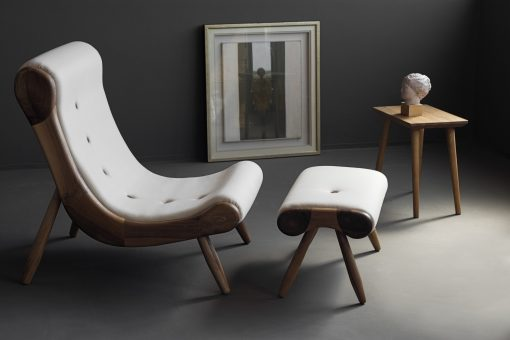 Contemporary Lounge Chair- side- styylish