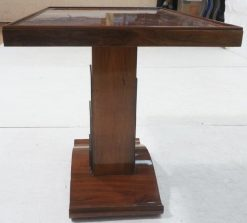 Art Deco Pedestal table- side view-Styylish