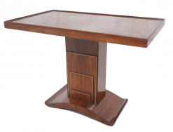 Art Deco Pedestal Table- styylish