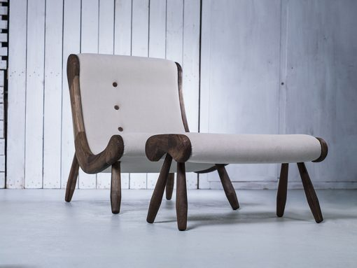 Contemporary Lounge Chair- front- styylish