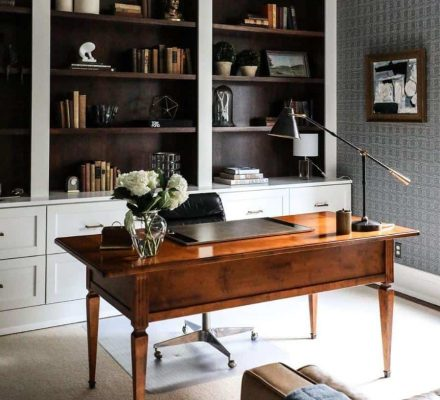 Home Office: The History Of Antique Desk