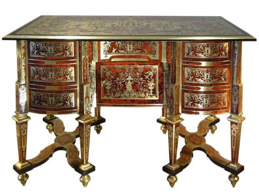 Antique Secretary Desk-Mazarin-Styylish