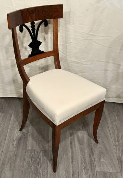 Biedermeier Walnut Chair South German 1820