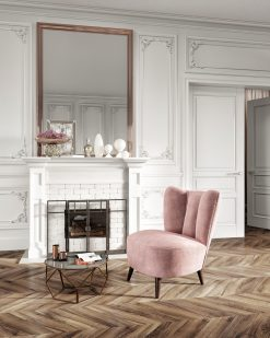 Contemporary Armchair- view in room- styylish