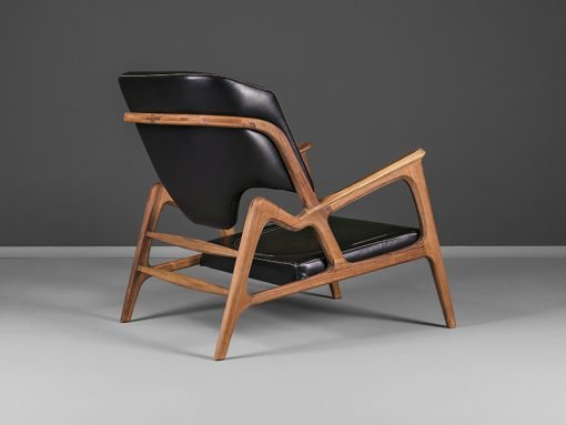 Modern armchair- view from the back- styylish