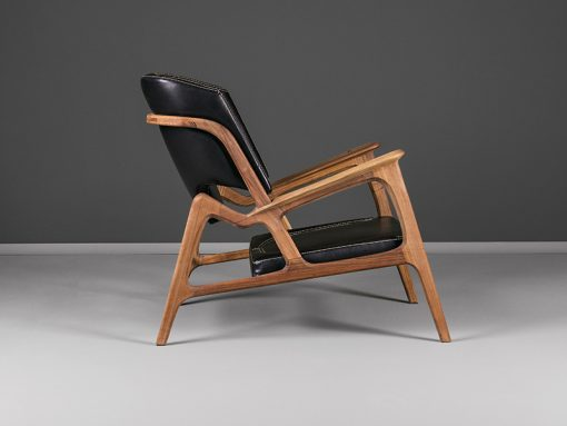 Modern armchair- view from the side- styylish