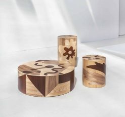 Contemporary stool- collection of three pieces- styylish
